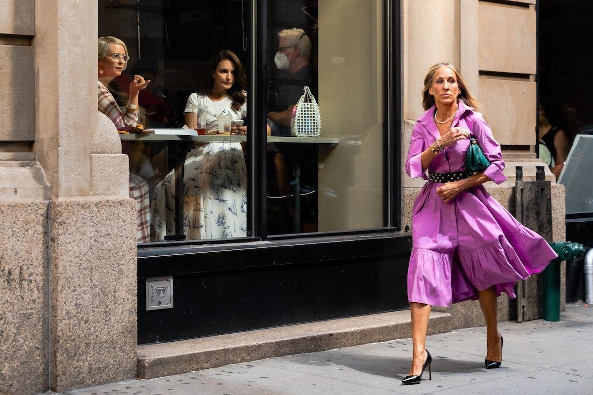 سارا جسیکا پارکر در مجموعه فیلم And Just Like That ...