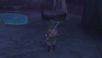 Skyward Sword Moonlight Merchant