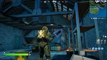 fortnite week 7 artifact location 4 gameplay
