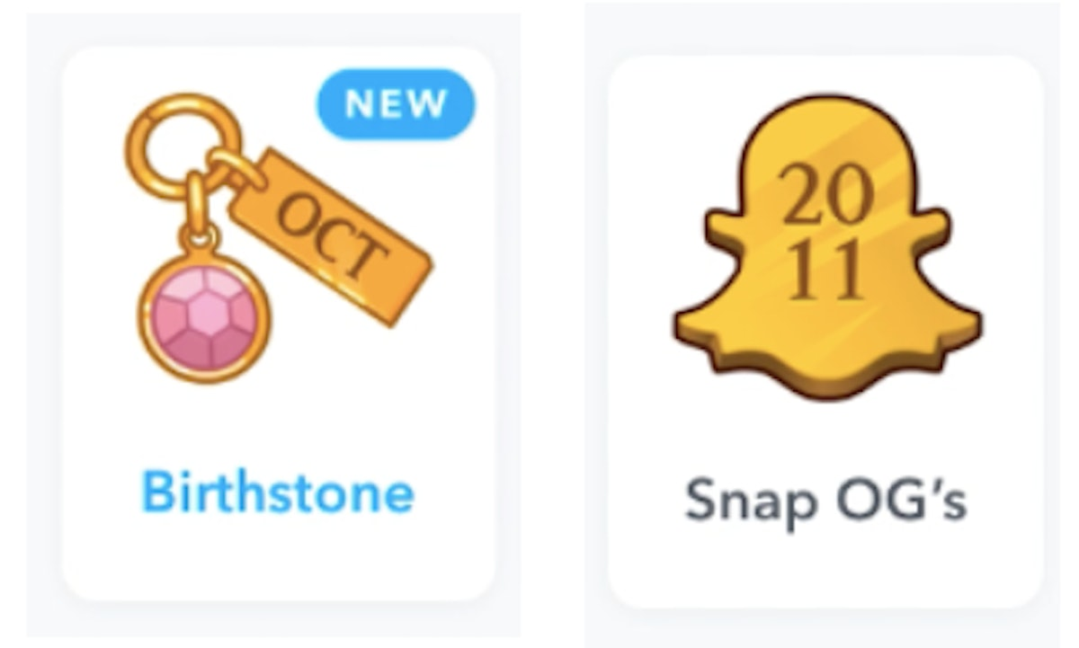 If you don't have Snapchat Charms, you can find them in your Friendship Profiles