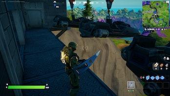 fortnite week 7 artifact location 3 gameplay