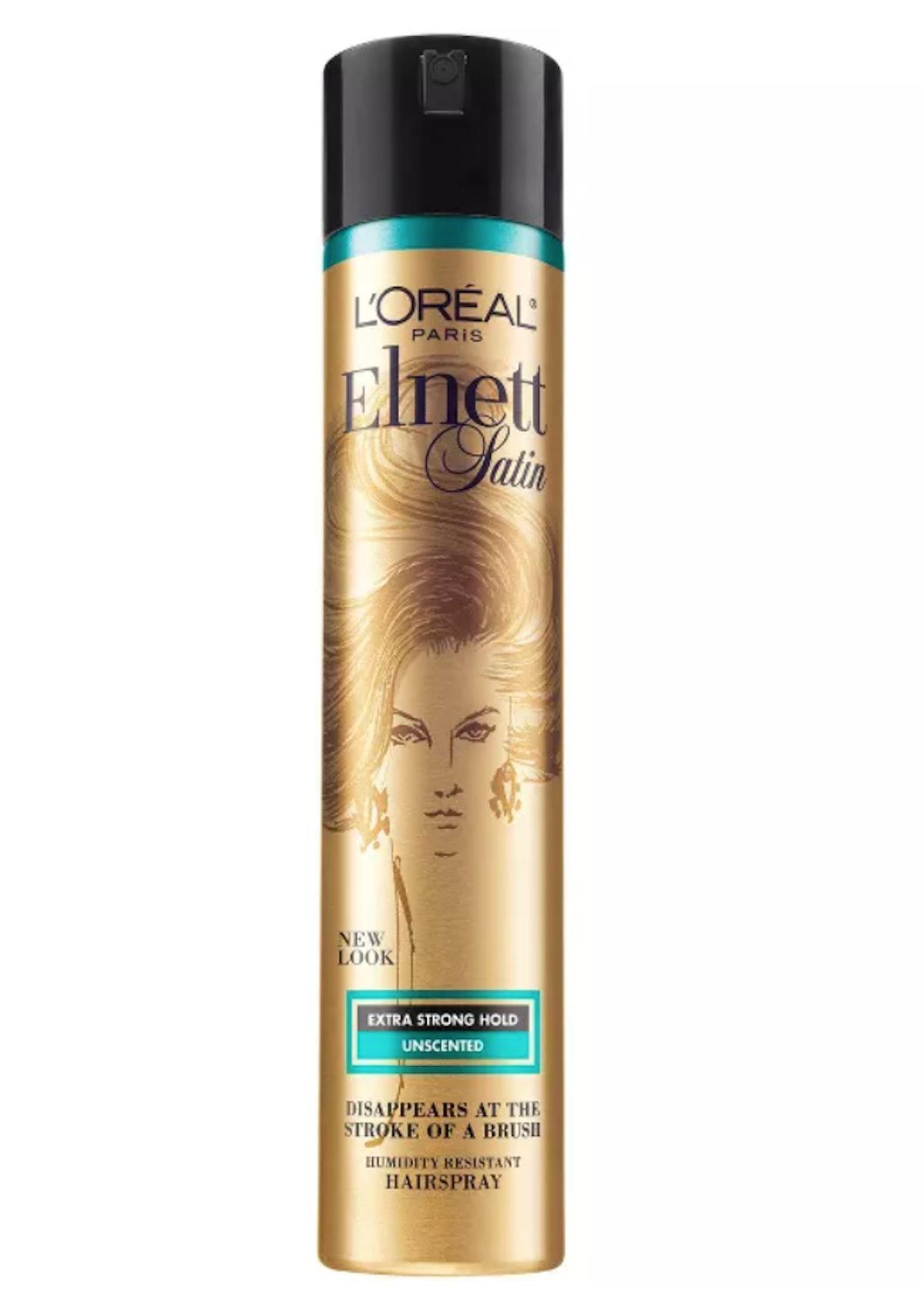 Elnett Satin Extra Strong Hold Unscented Hair Spray