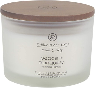 Chesapeake Bay Candle Peace + Tranquility Scented Candle, 11 Oz.