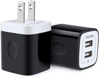 Ailkin Multiport Fast Charge Power Cube (2-Pack)