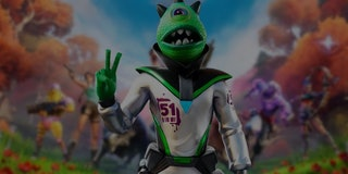 fortnite season 7 alien