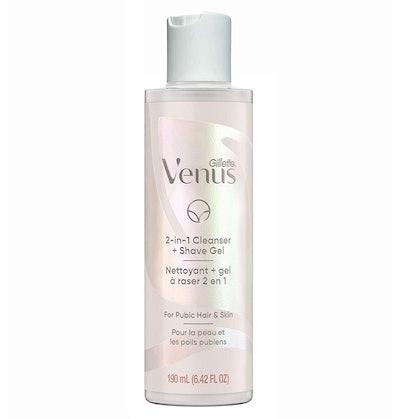 Gillette Venus Intimate Grooming 2-in-1 Cleanser + Shave Gel