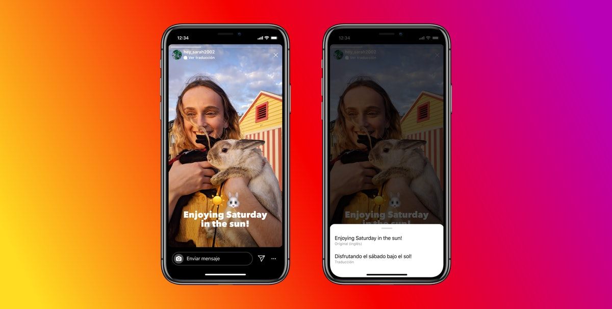 You can now translate text in your Instagram Stories into over 90 languages.