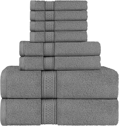 Utopia Bath Towels (8-Piece)