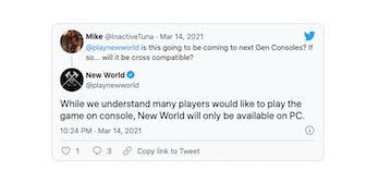 new world console port