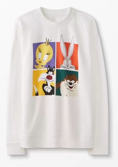 Adult Looney Tunes™ Sweatshirt In French Terry