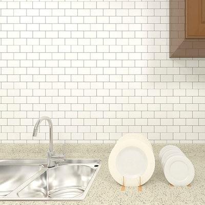 LONGKING Peel and Stick Backsplash Tile (10-Sheets)