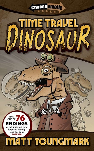 'Time Travel Dinosaur' by Matt Youngmark