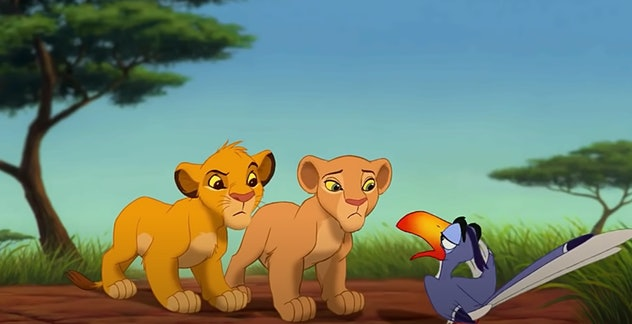 'The Lion King' is an animated film from Disney.