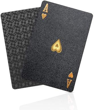BIERDORF Diamond Waterproof Black Playing Cards