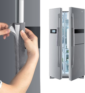 OUGAR8 Refrigerator Door Handle Cover (Set of 2)