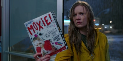 Hadley Robinson as Vivian in Moxie.