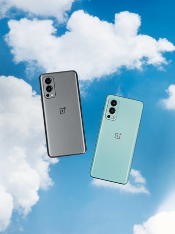 OnePlus Nord 2 5G phone with three cameras