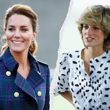 Kate Middleton & Princess Diana