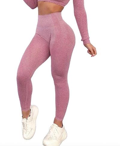 KIWI RATA Seamless Fitness Leggings