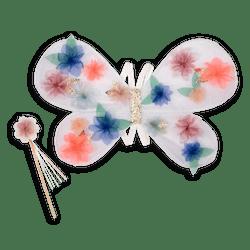 Meri Meri Butterfly Organza Wing Dress-Up Set