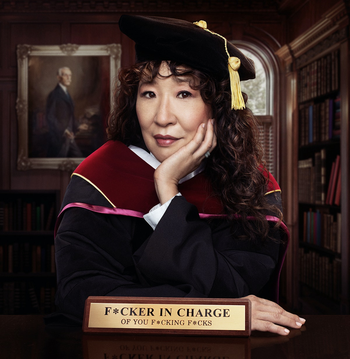In her new Netflix show 'The Chair,' Sandra Oh will take on higher education as the new chair of the...