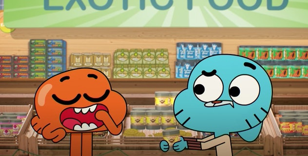 'The Amazing World of Gumball' is a series from Cartoon Network.