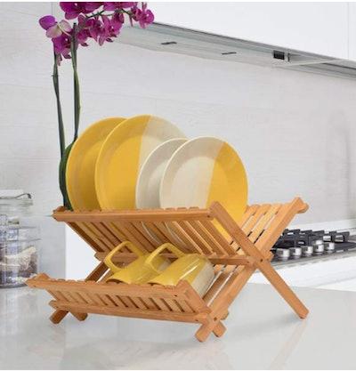 Bambüsi Bamboo Dish Drying Rack