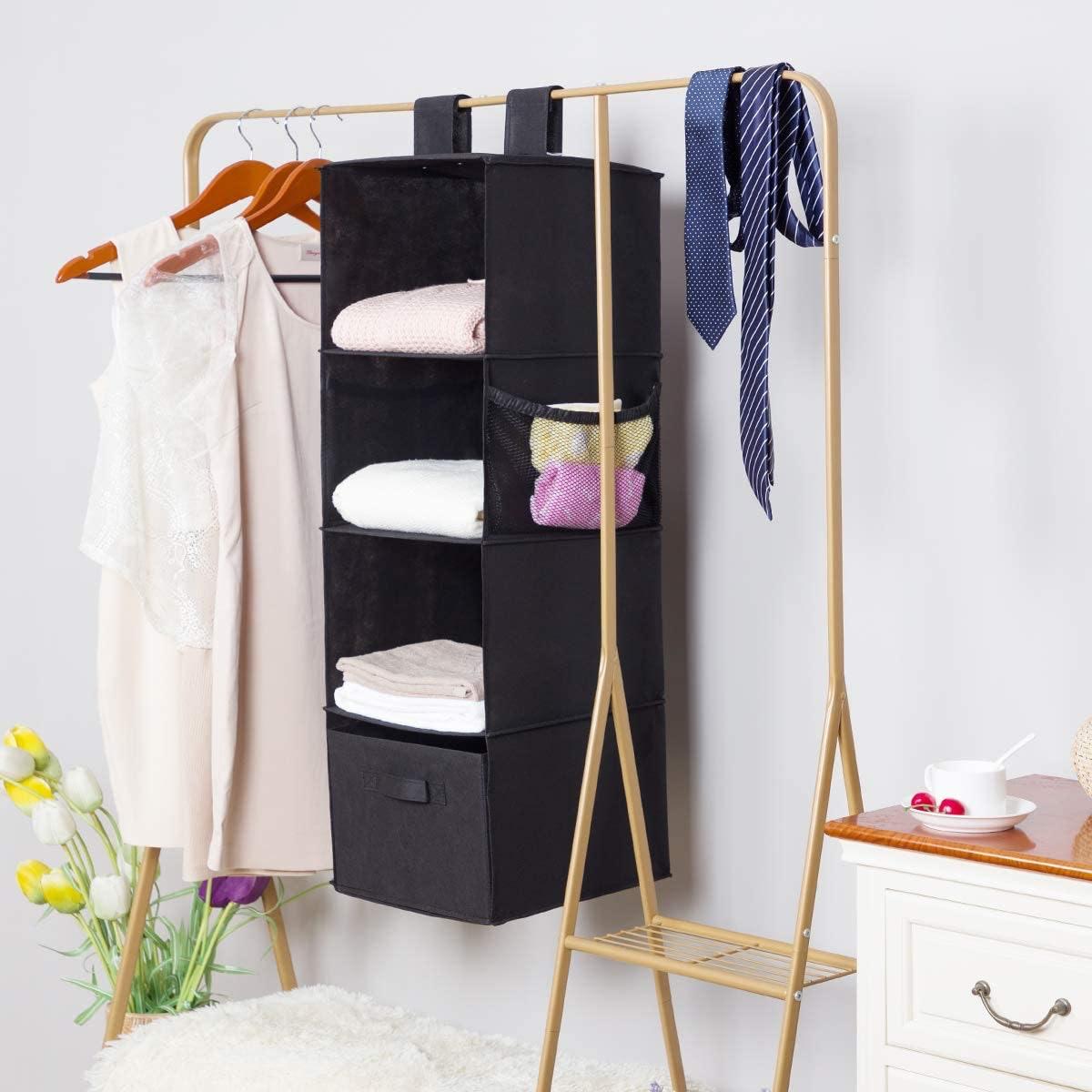 MustQ Hanging Closet Organizer