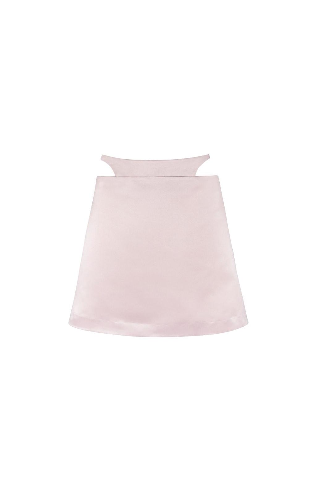 Bunny Skirt in Balm Satin