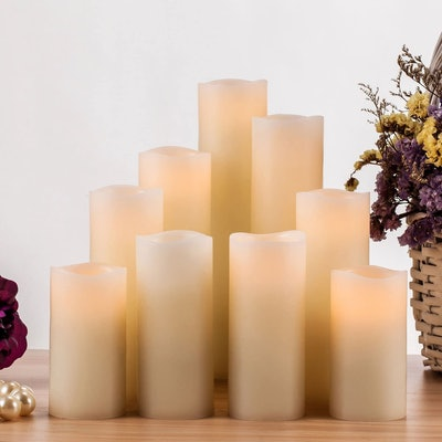 RY King Flameless Candle (Set of 9)