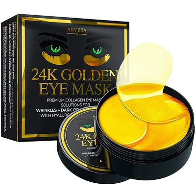Arvesa Gold Eye Masks (30 Pairs)