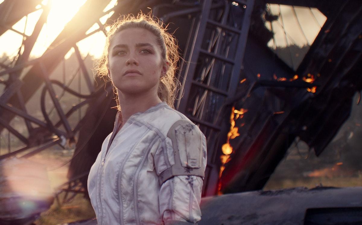 Florence Pugh as Yelena Belova in 'Black Widow'