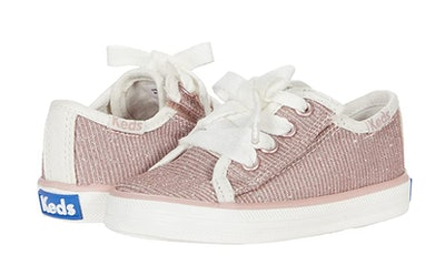 pink sneakers for child