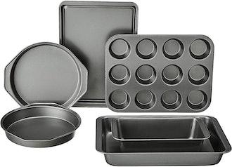 Amazon Basics Nonstick Oven Bakeware Baking Set (6 Pieces)