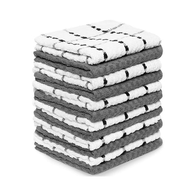 Zeppoli Soft Cotton Kitchen Towels (12 Pack)