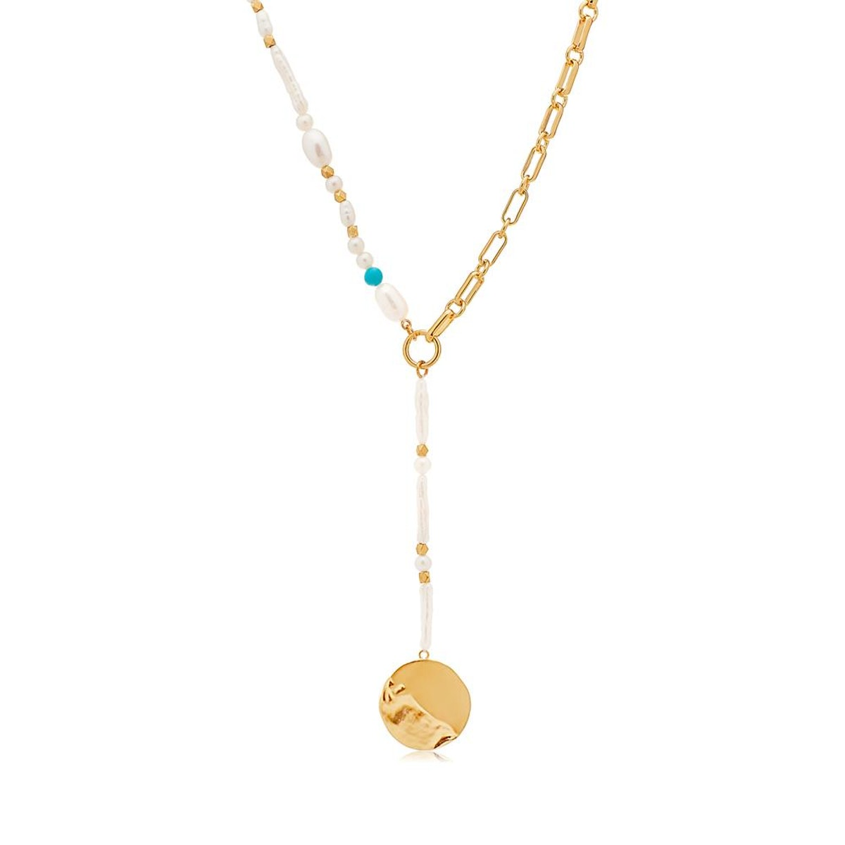 Inthefrow Tahiti Lariat Necklace from Edge of Ember, released in collaboration with influencer Victo...