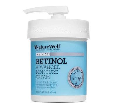 NatureWell Retinol Advanced Moisturizing Cream for Face and Body