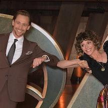 Tom Hiddleston and Sophia Di Martino from Marvel's 'Loki'