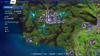 fortnite week 7 artifact location 5 map