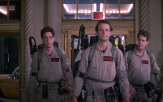 Ghostbusters (1984) rated PG, on Amazon Prime Video, Paramount TV, and Apple TV.
