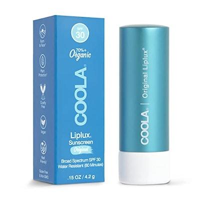 COOLA Organic Liplux Sunscreen Lip Balm SPF 30