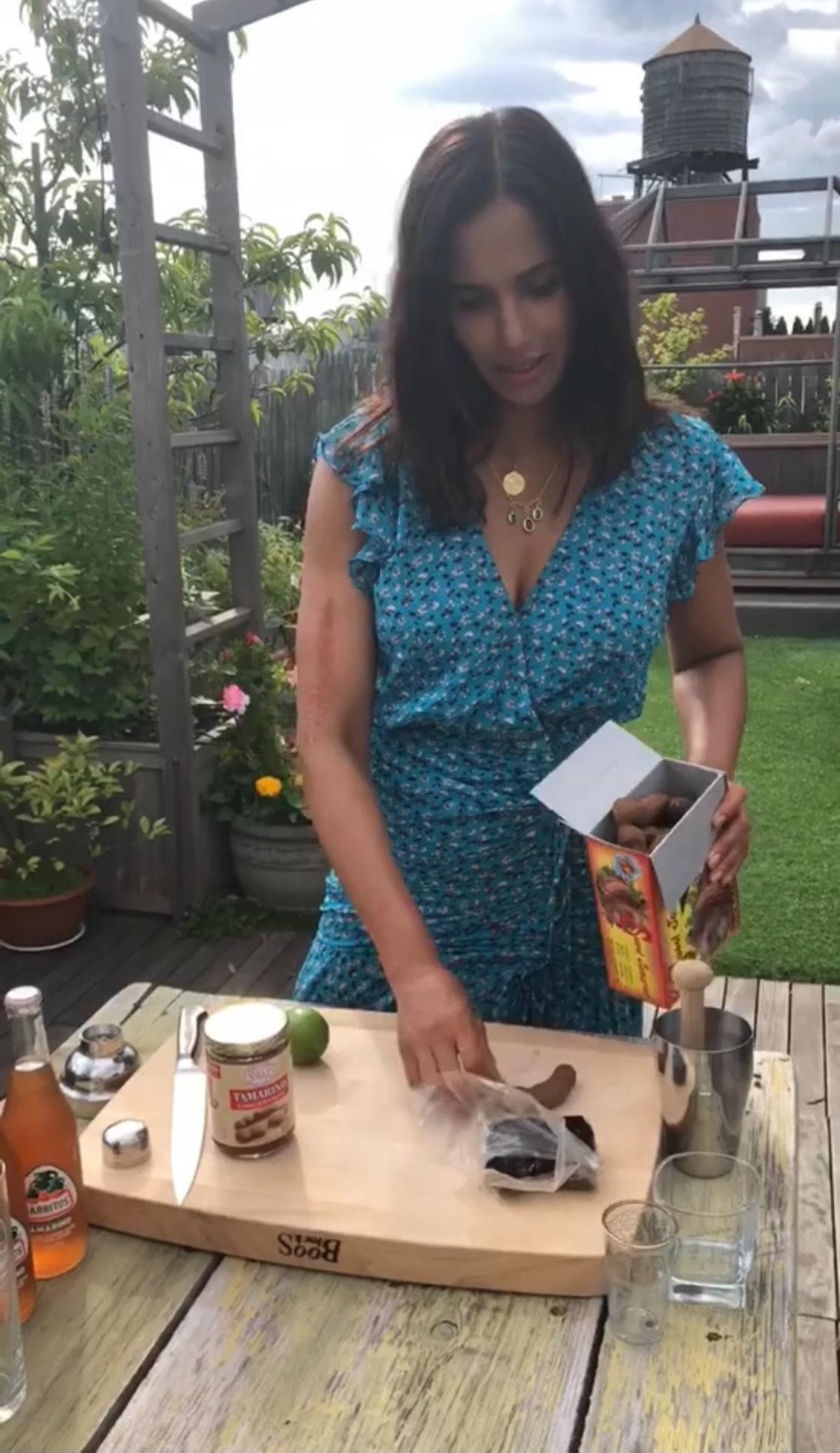 Celebrity Cocktail Recipes Padma Lakshmi