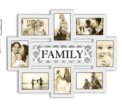 family frame photos