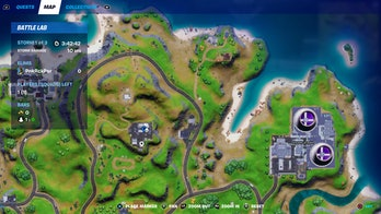 fortnite week 7 artifact location 2 map