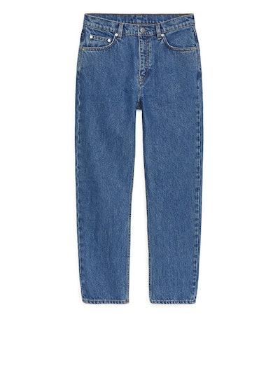 Regular Cropped Jeans