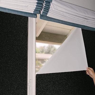 Window Whirl Total Blackout Window Film