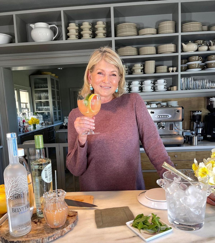 Celebrity Cocktail Recipes Martha Stewart