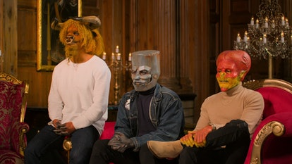 Josh the Bull, Ethan the Tin Man, and Tyler the Alien in 'Sexy Beasts'