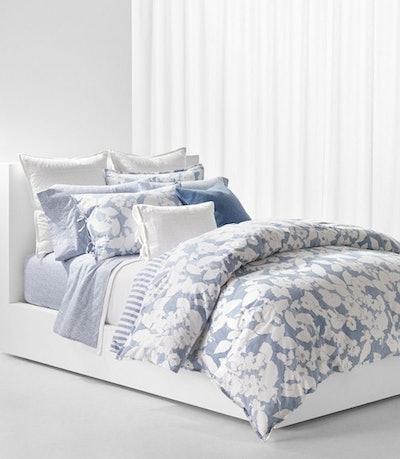 Ralph Lauren blue bedding set with comforter