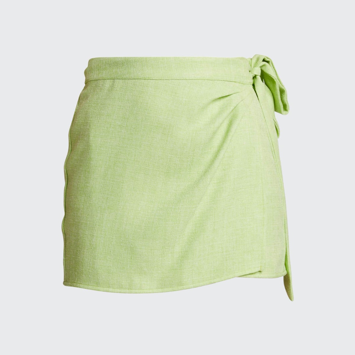 Ciao Lucia Fontana Tweed Wrap Skirt